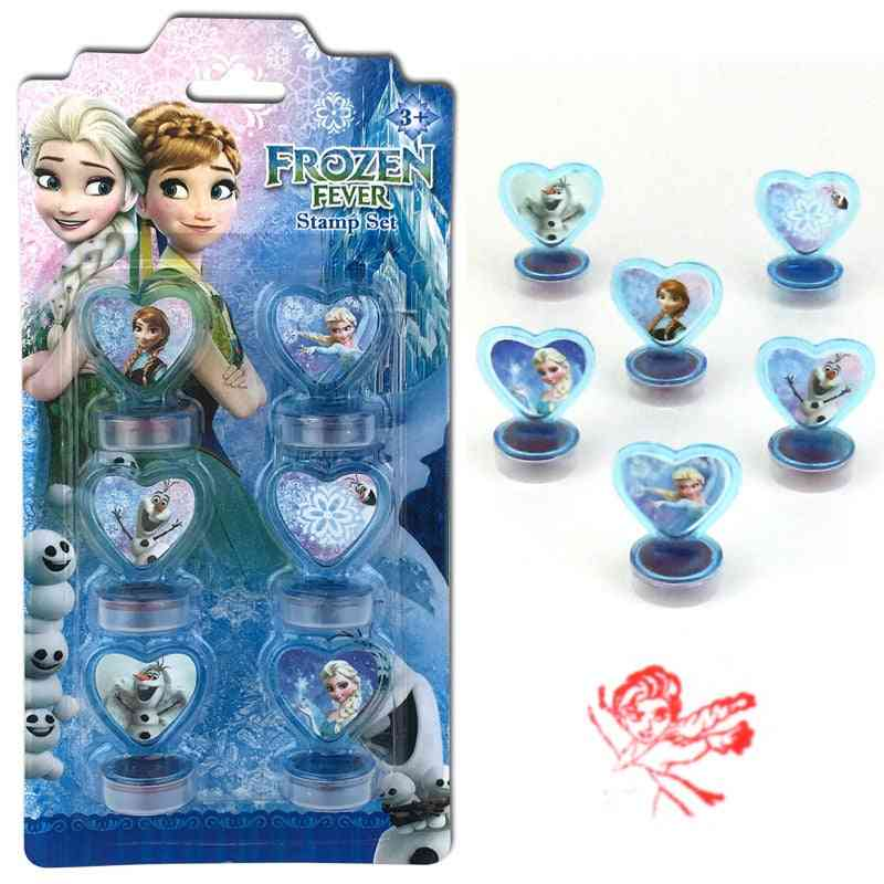 Disney Cartoon Princess, Mermaid, Frozen, Elsa Princess Seal's