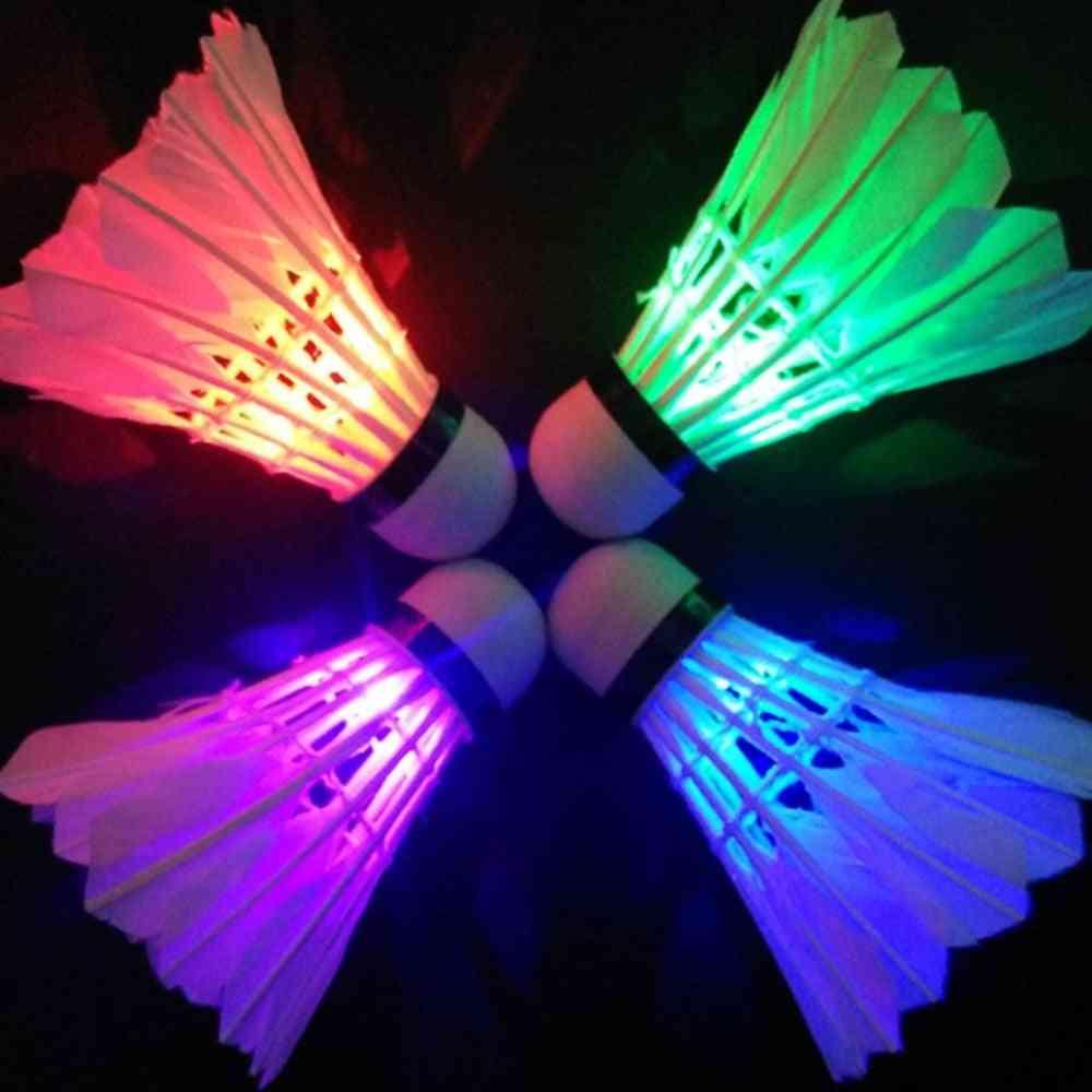 Colorful Led Badminton Shuttlecock