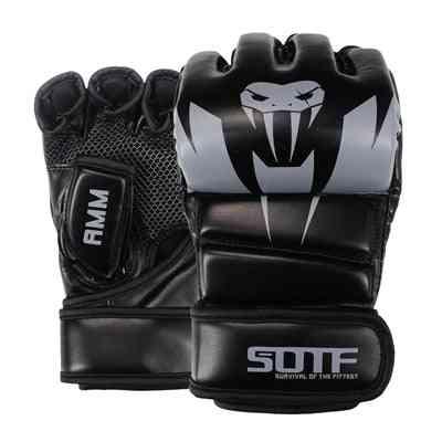 Leatherette Boxing Gloves For Men