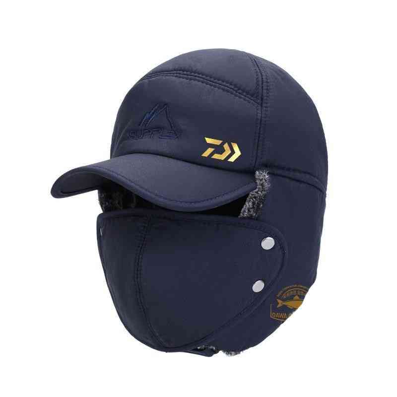 Thermal Windproof Full Face Cover Mask And Hat