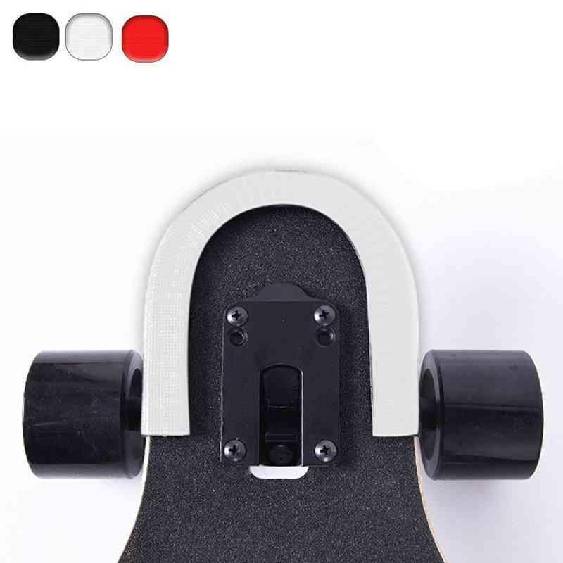 Skateboard Strip Bumper, U-shape Rubber Deck, Guards Protector For Longboard And Double Rocker Strip
