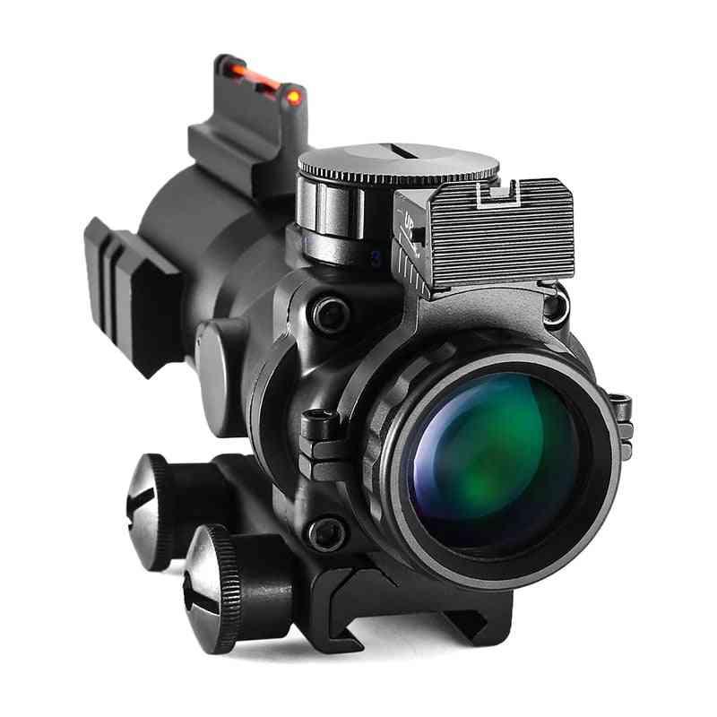 Dovetail Reflex Optics Scope Tactical Sight For Hunting Gun