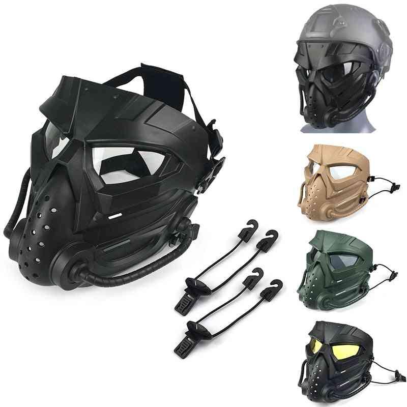 Multi-functional, Shockproof And Anti-fog Skull Mask Set
