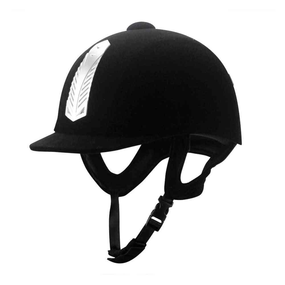 Equestrian Half Cover Sporsts Helmet