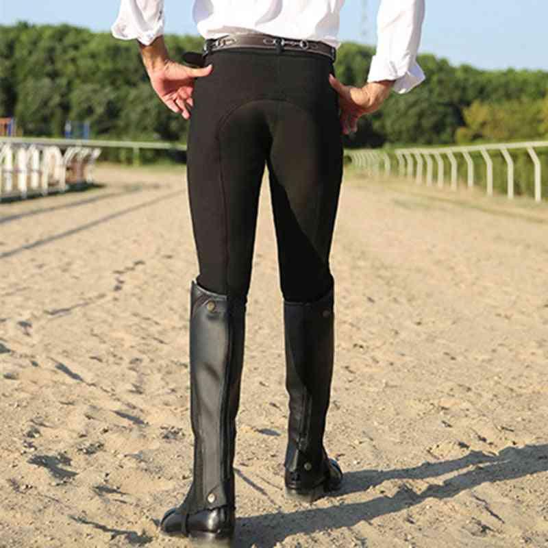 Horse Riding Pants/men -elastic Equestrian Breeches