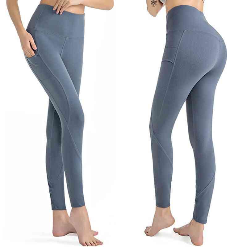 Women High Waist Tights Sports Leggings, Fitness Outdoor Horseback Pants
