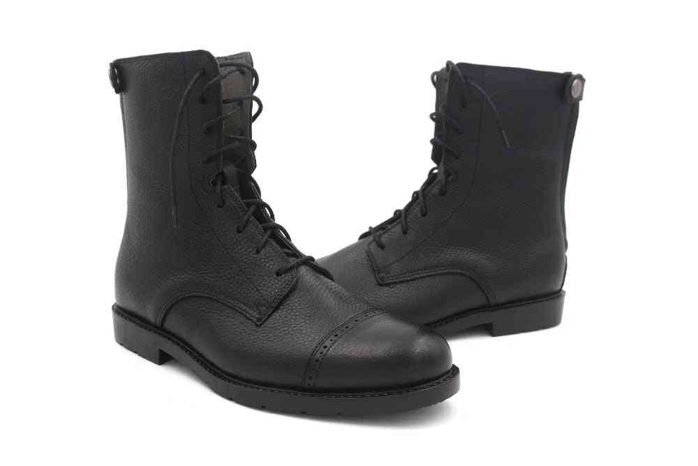 Horse Riding Equipment-soft Leather Boots,women And