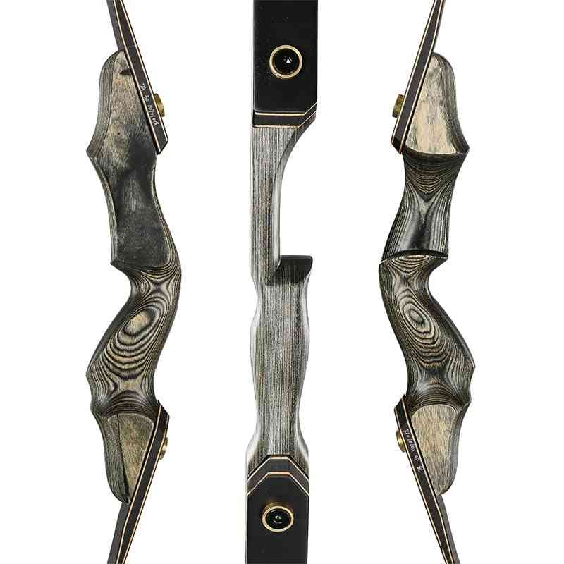 Top Archery Hunting Bow For Wooden Riser Recurve Limbs Shooting Outdoor