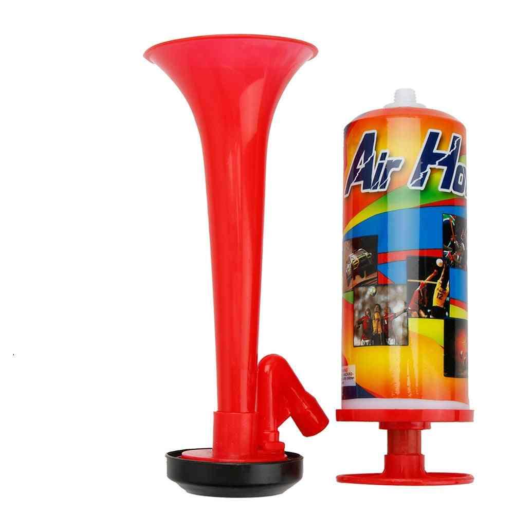 Hand Push Air Fan Horn