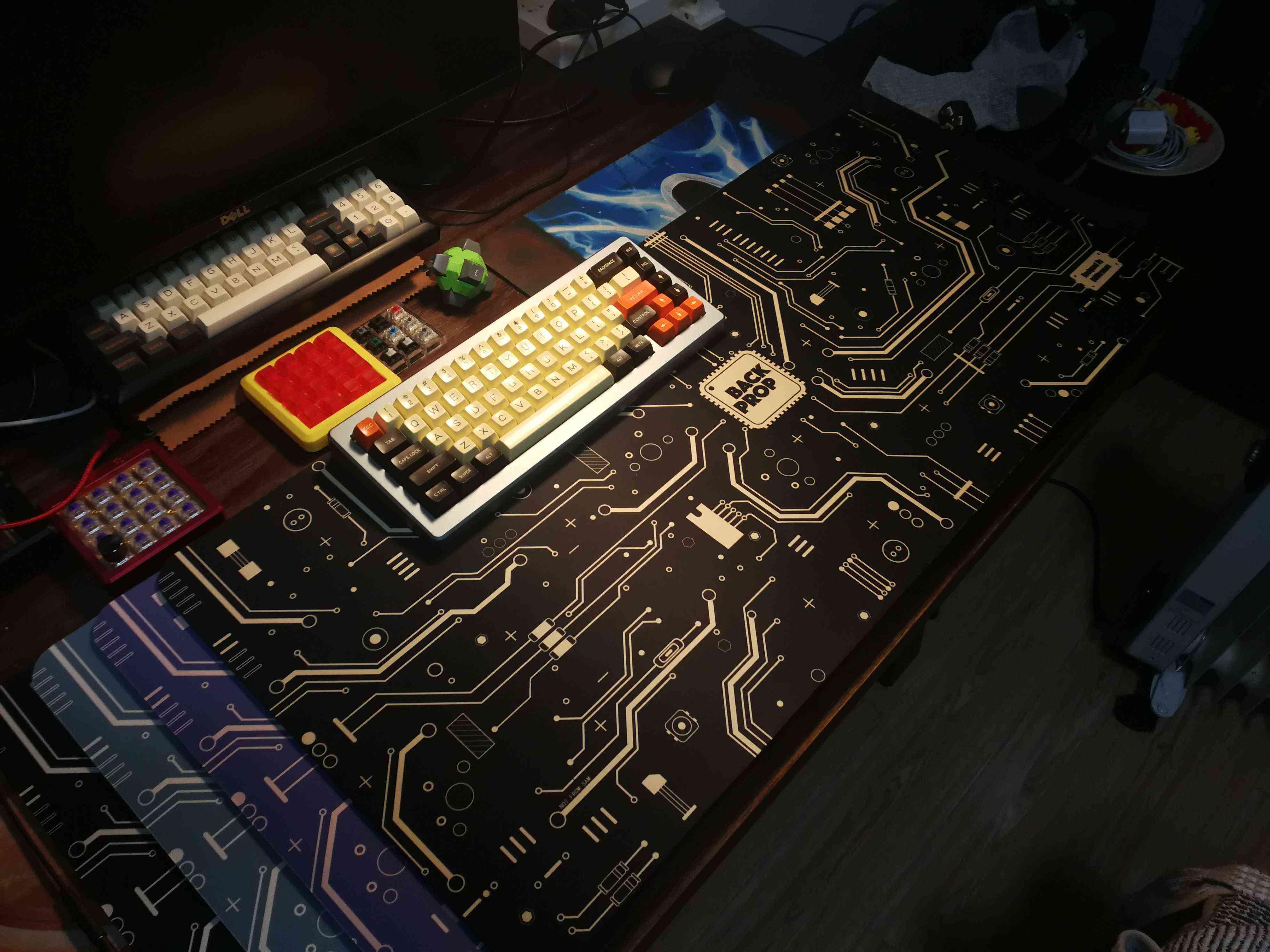 Designer Theme Table Mat For Keyboards