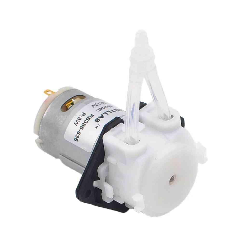 Peristaltic 12v Dcliquid Dosing Pump -for Aquarium Lab Analytical