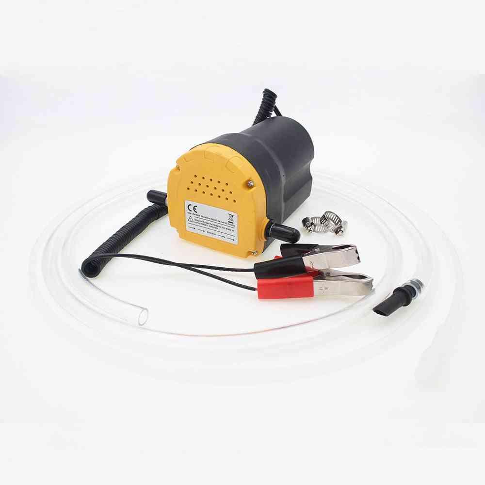 12v/24v Electric Engine Oil Pump, Inlet Hose And Clamps