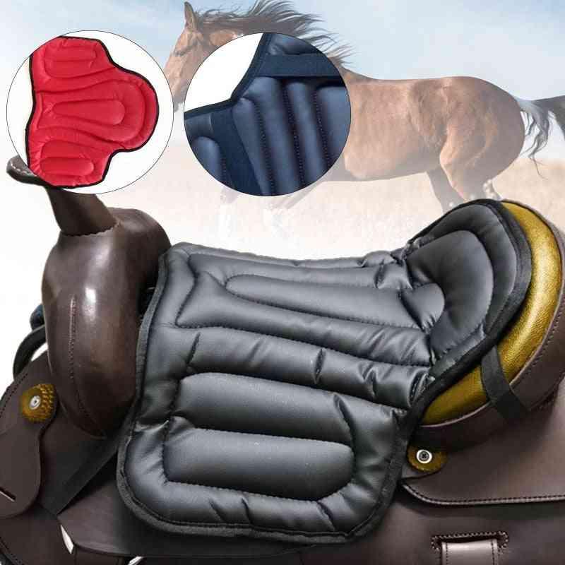 Pu Memory Foam Horse Riding Saddle Pad-equestrian Seat -