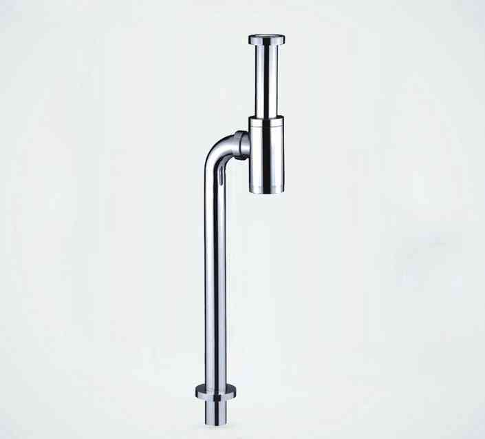 Stainless Steel S Trap Anti-odor Handbasin Drainage Pipe
