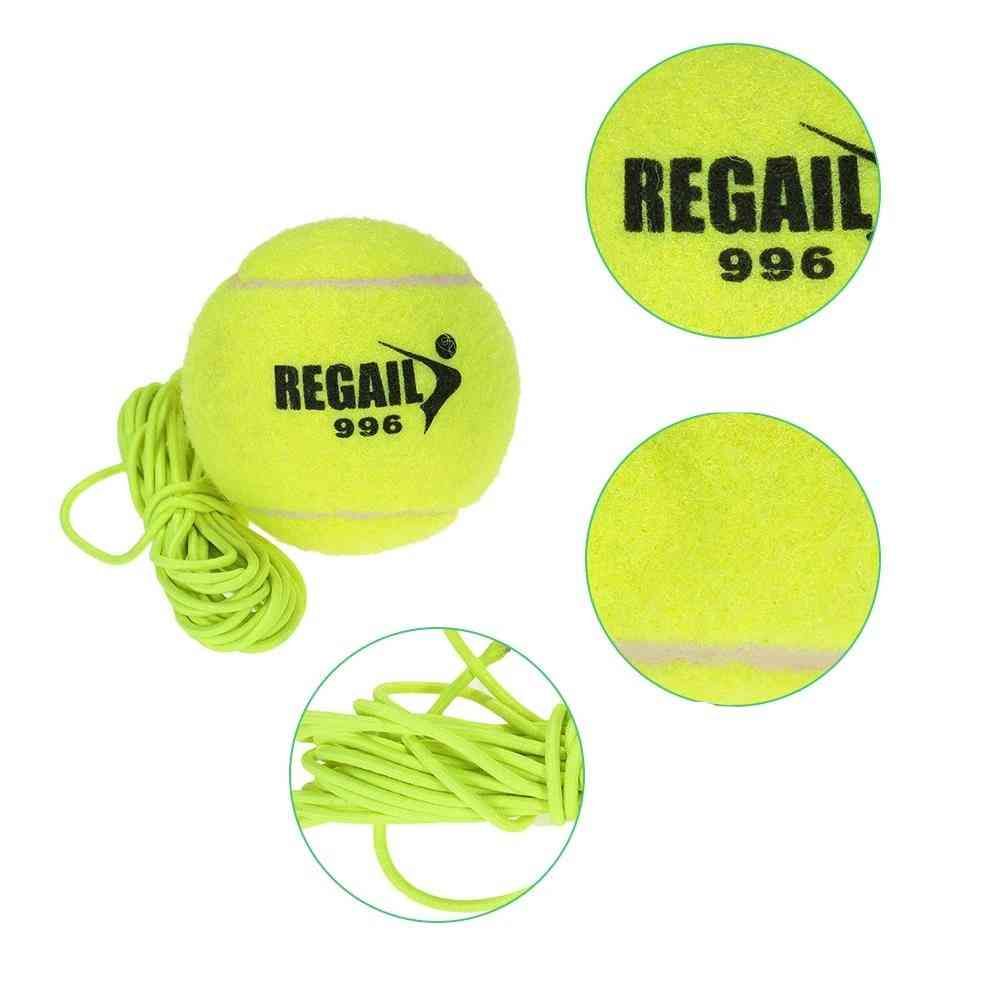 Tennis Balls Trainer With String Sparring Device Tournament Outdoor Fun Cricket Beach