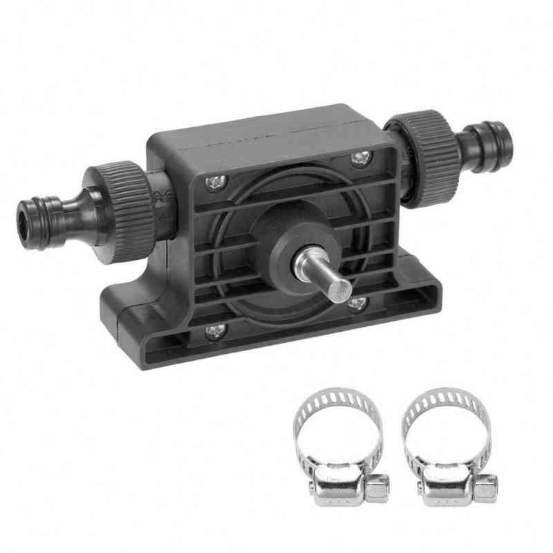 Portable Electric Drill Vacuum Self Priming Transfer Oil Fluid Water Pump