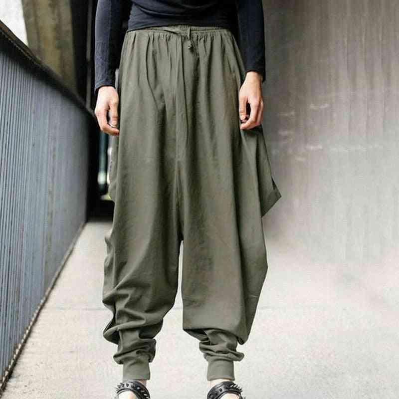 Wide Lge Summer Harem Pants