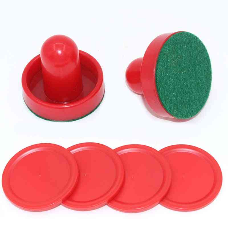 Air Hockey Goalies Game Tables For Entertainment Replacement, Pusher Accessories