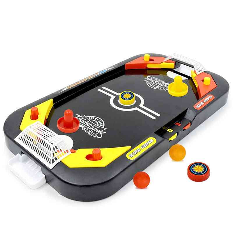 2-in-1 Mini Hockey Table Game-indoor Toy