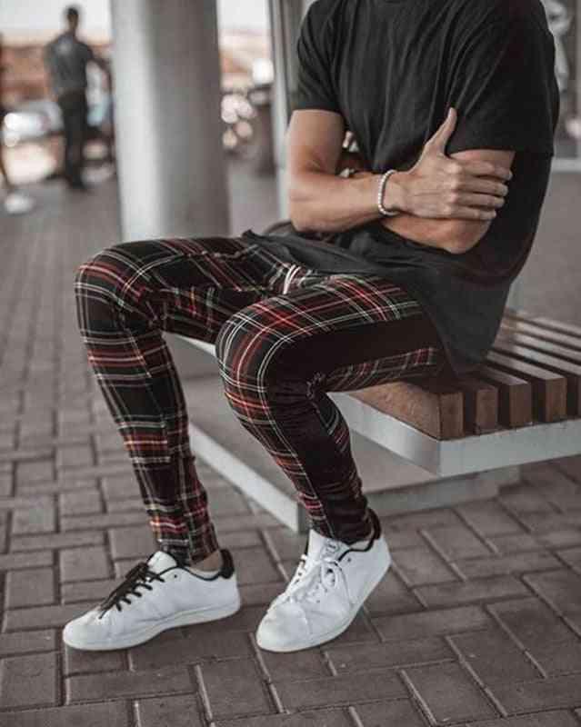 Man Street Fashion Trousers Casual Sports Joggers Pants