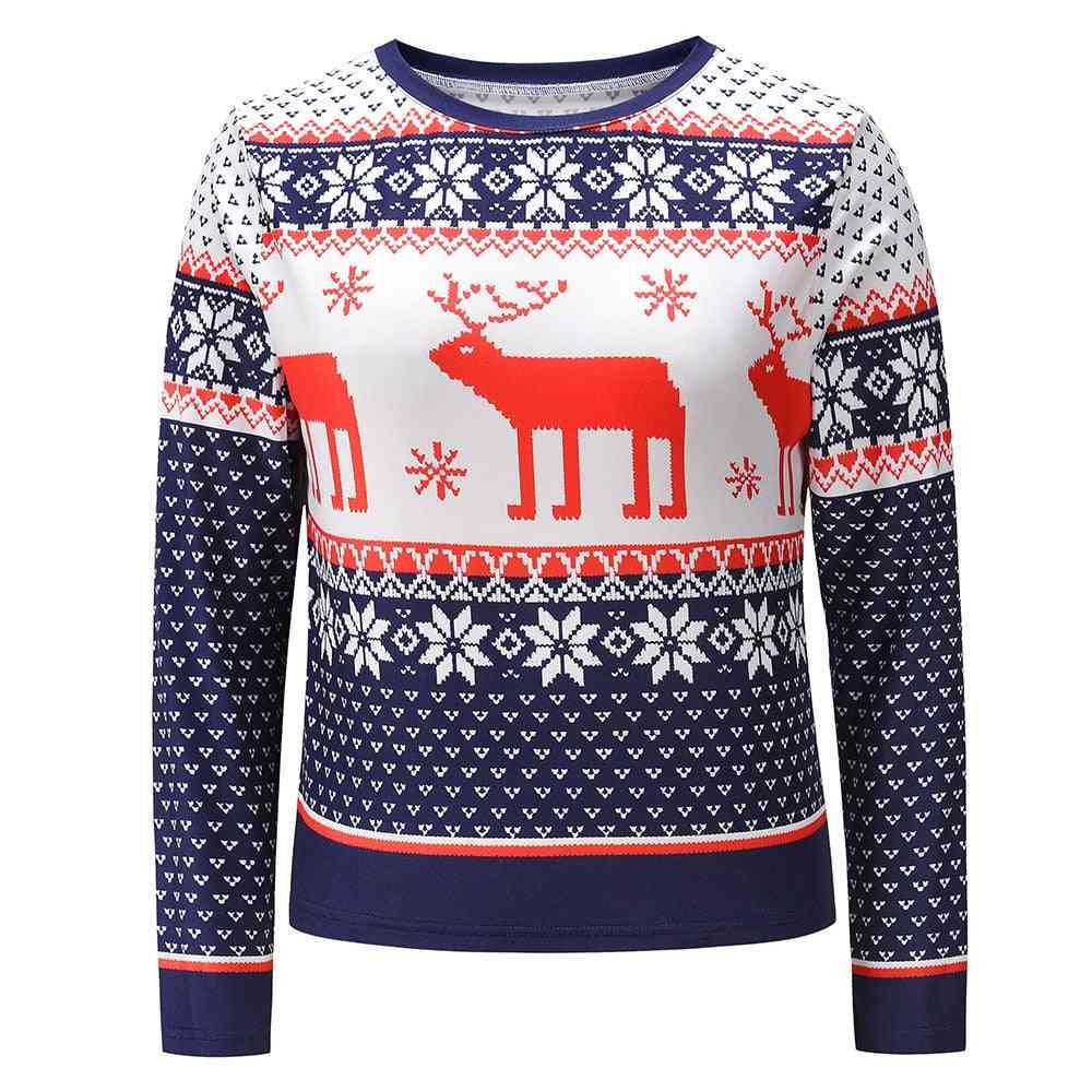 Christmas Women's Sweatshirt- Pullover Tops