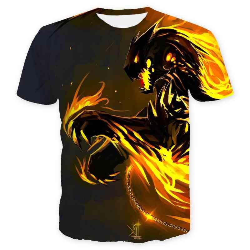 3d Printed, Short Sleeve T-shirt