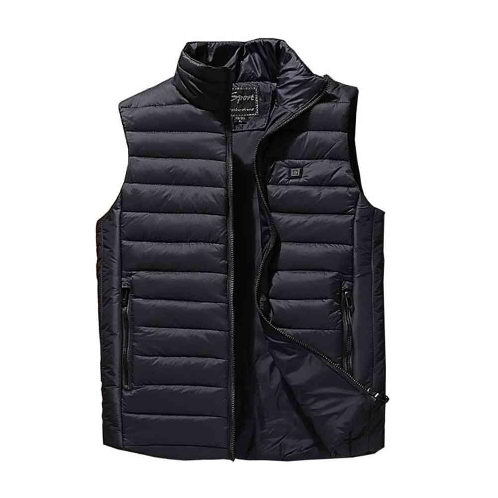 Unisex Warming Heated Vest, Usb Charging Padded Jackets
