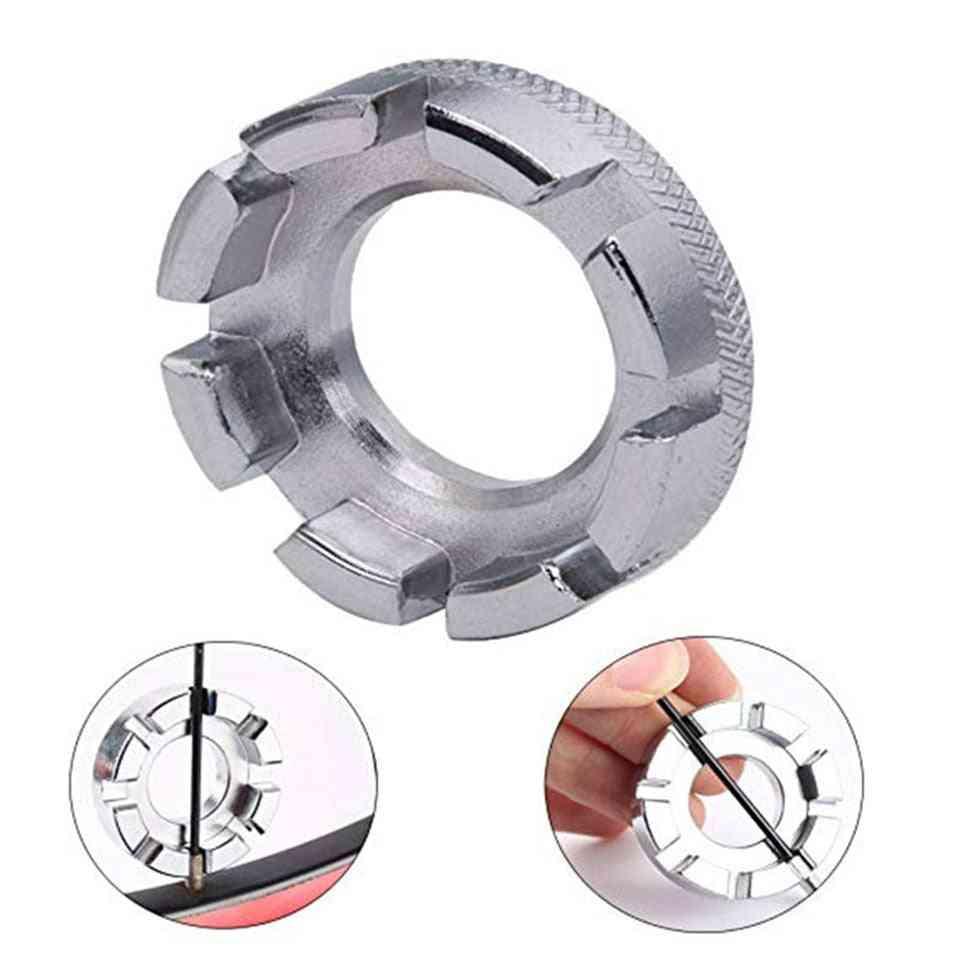 8 Way Spoke Nipple Key Wheel Rim Wrench Spanner