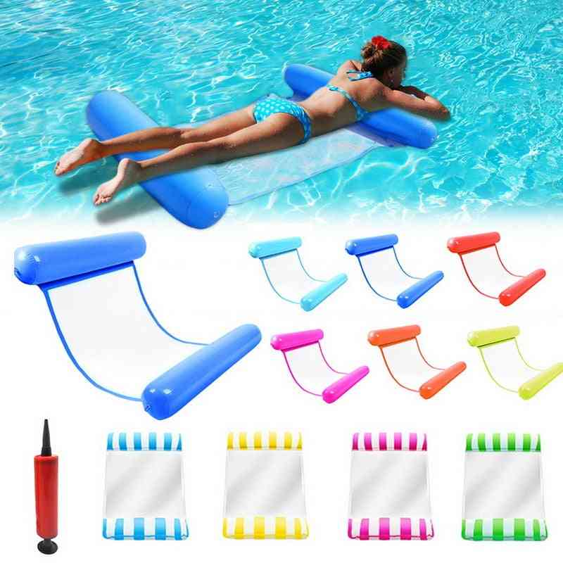 Inflatable Bed Floating Swimming Mattress For Pool Party