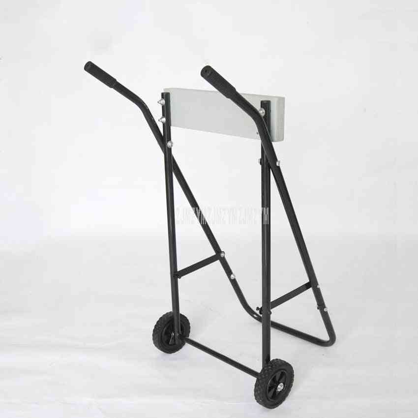 Motor Stand Trolley - Foldable Boat, Outboard Motor Trolley, Steel Pipe Engine