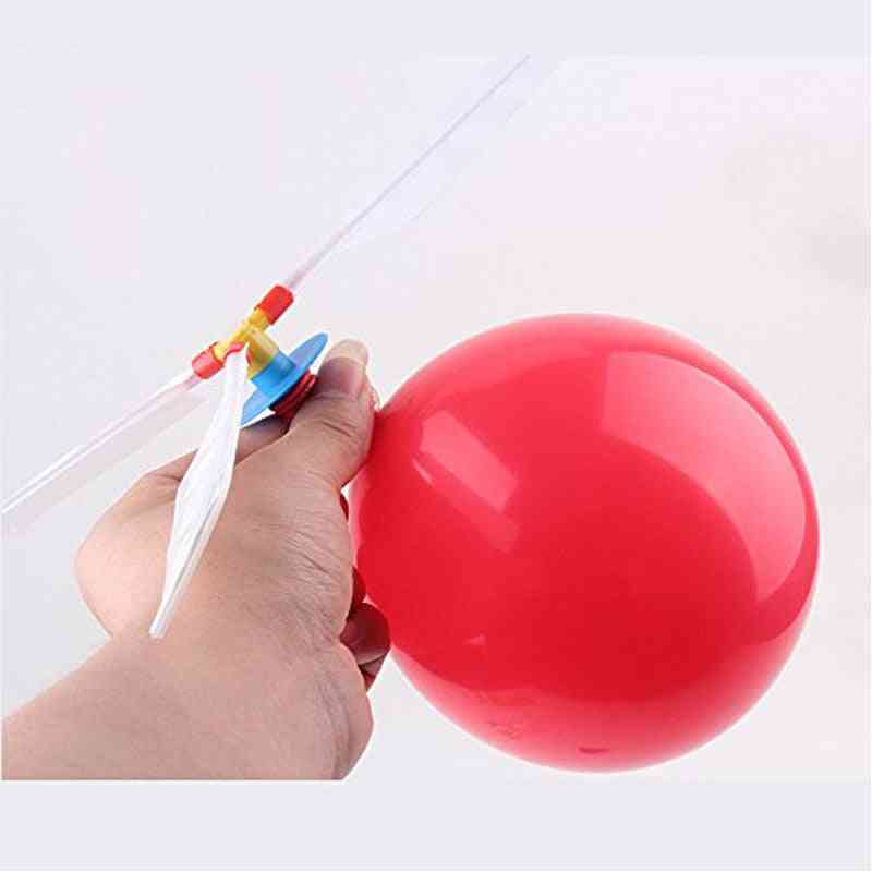 Balloon Flying Helicopte Toy