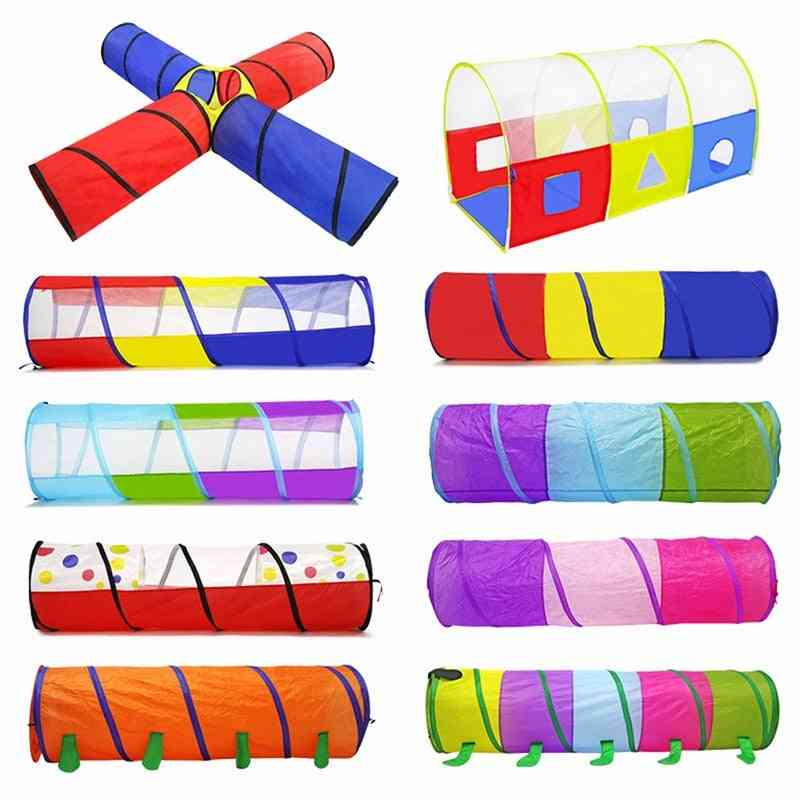 Small And Portable Crawling Tunnel/tent For
