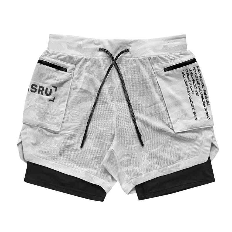 Men Shorts And Leggings-2in1 Sportswear
