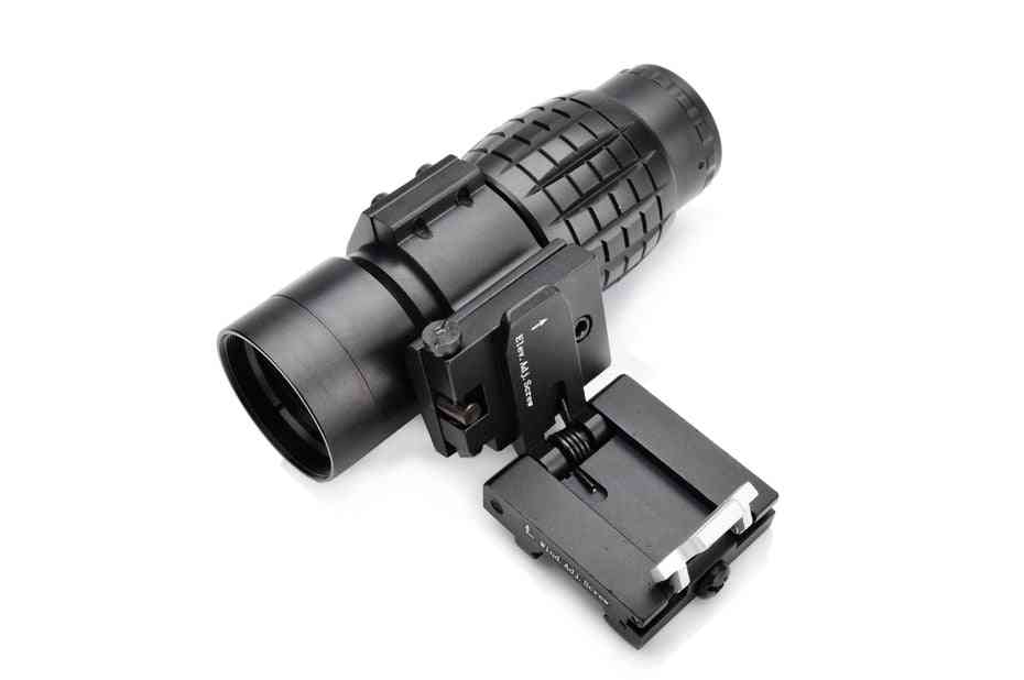 Military Airsoft Tactical 3x Magnifier Riflescope