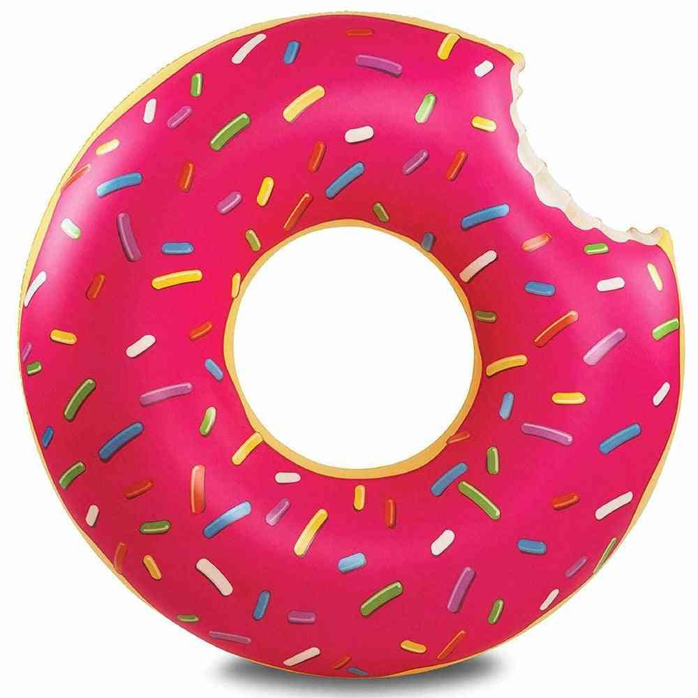 Inflatable Donut Shape Swimming Float Rings