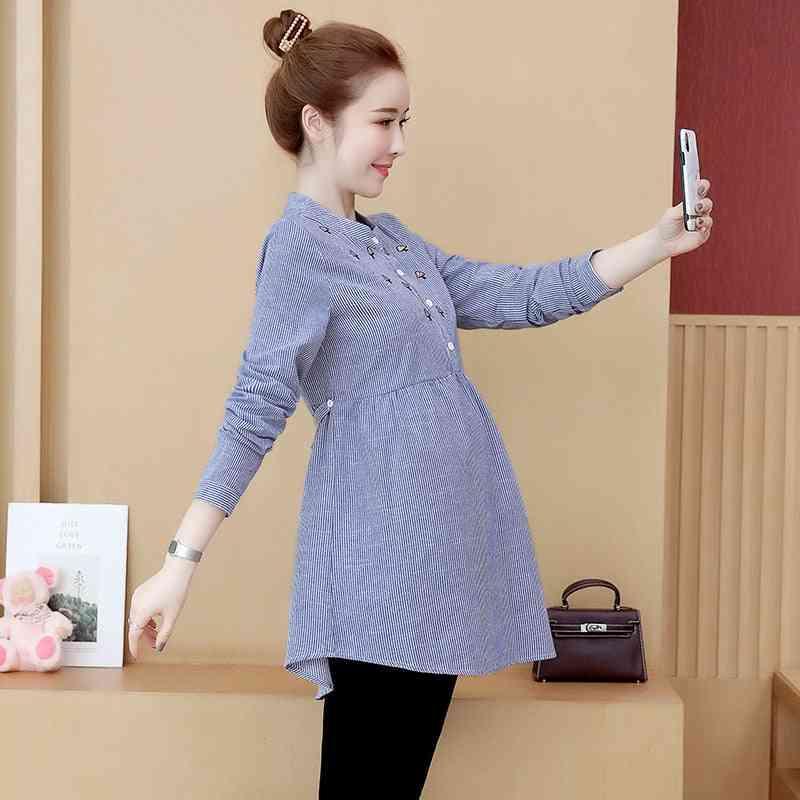 Spring Autumn Shirts For Pregnant Women