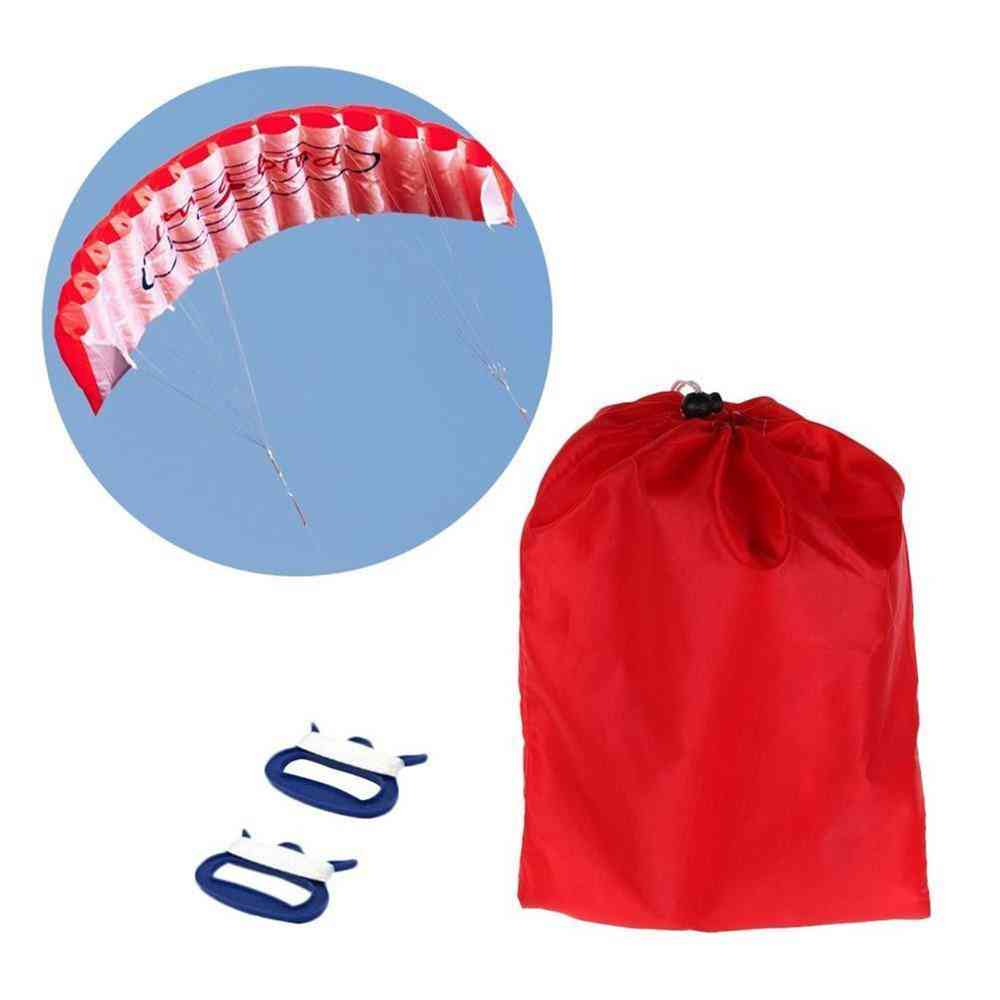 Dual-line, Mix-color, Stunt Parachute, Soft Parafoil, Sail Surfing Kite Sport For Outdoor Activity Flying Kite
