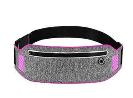 Man / Women Running Waist Double Pocket Bag- Unisex High Qualityt Bag