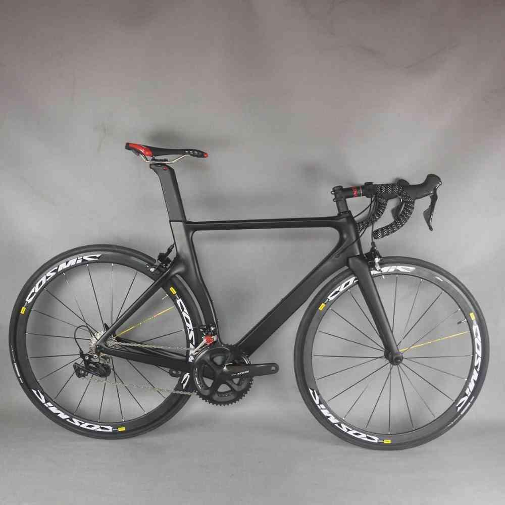 Double V Brake Complete Carbon Fiber Bicycle