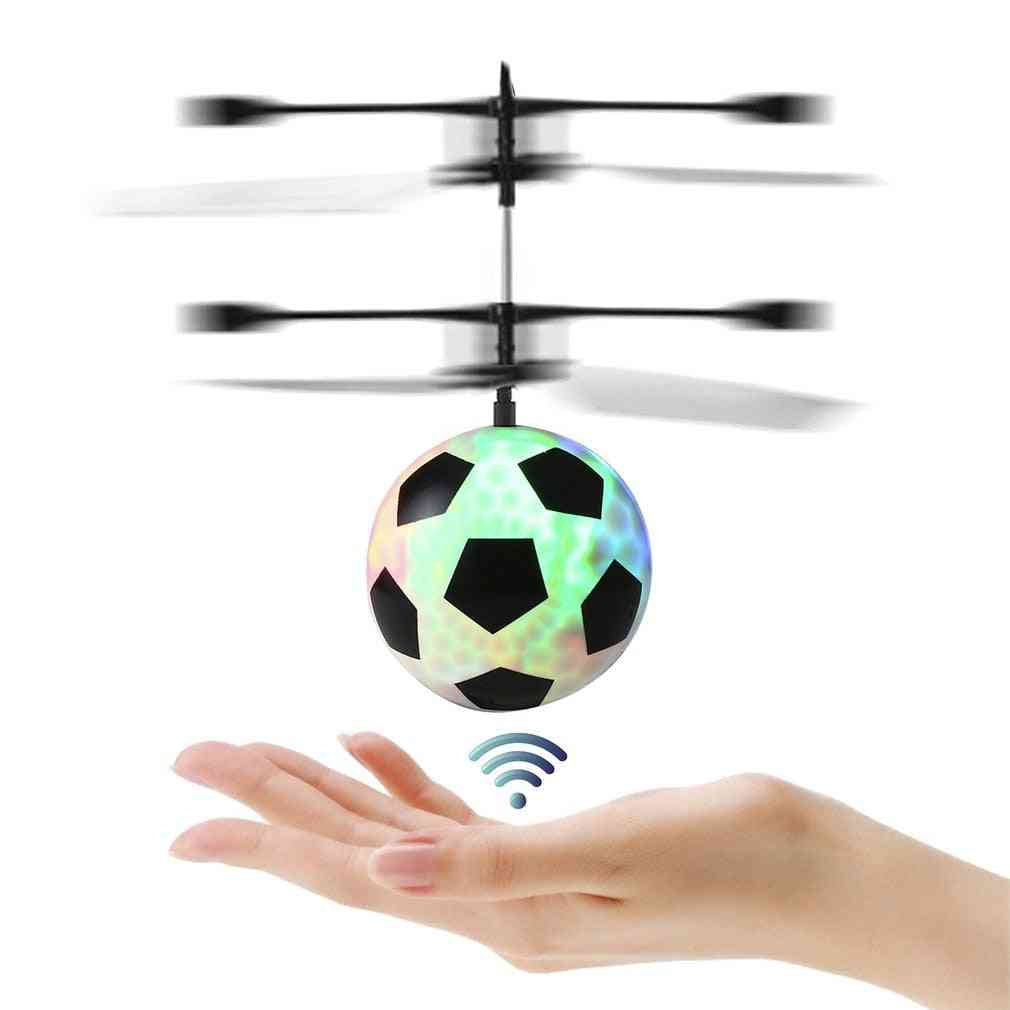 Infrared Led Flying Football Toy For Kids