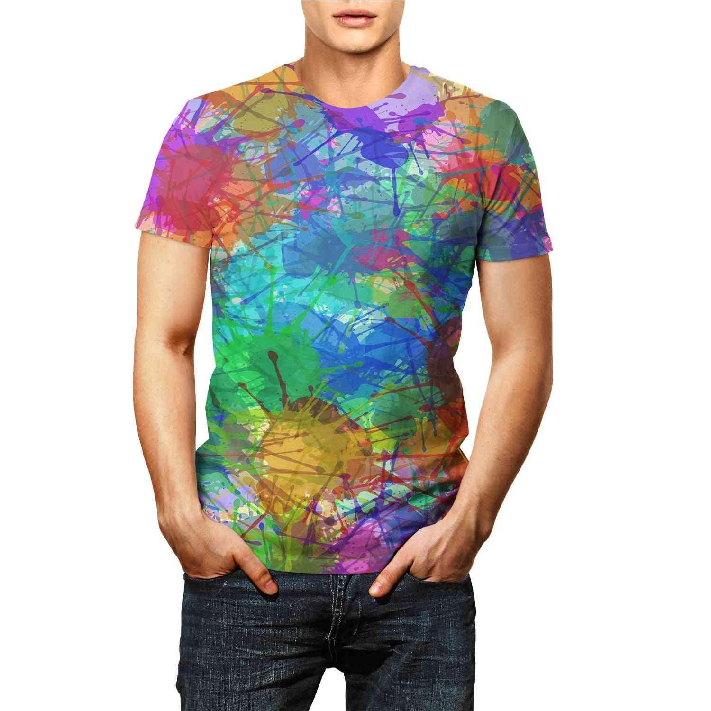 Summer Fashion Graffiti 3d T-shirts For Boy & Girl