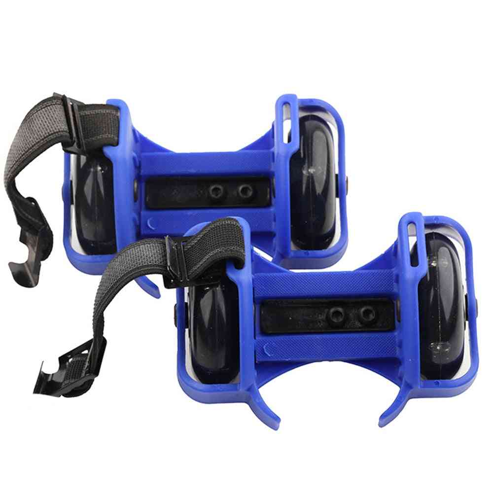 Flashing Roller Skating Shoes, Small Whirlwind Pulley Flash Wheel Sports