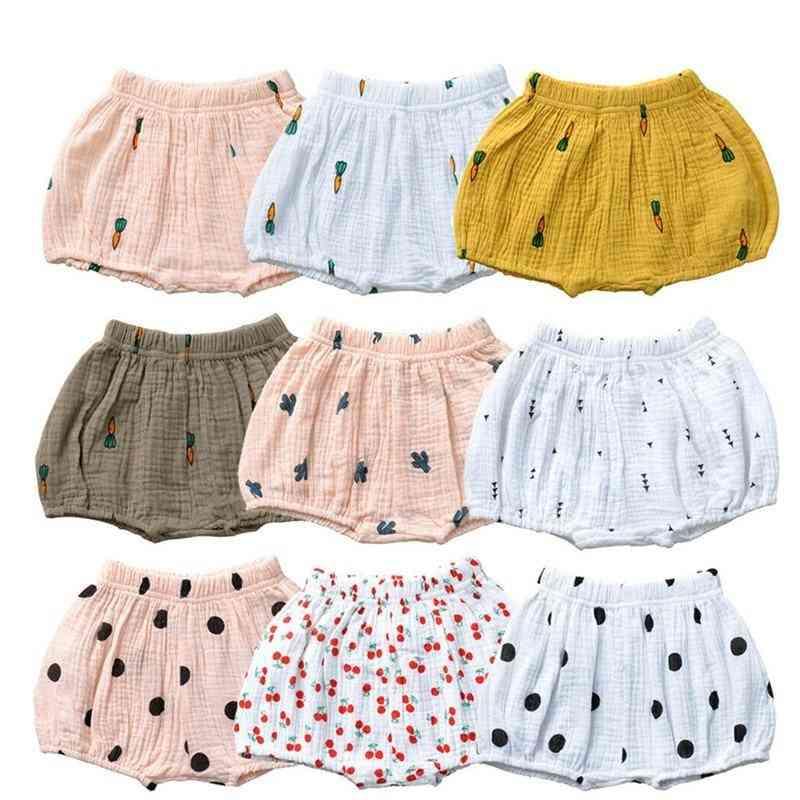 Cute Pattern, Infant Cotton Shorts Pants