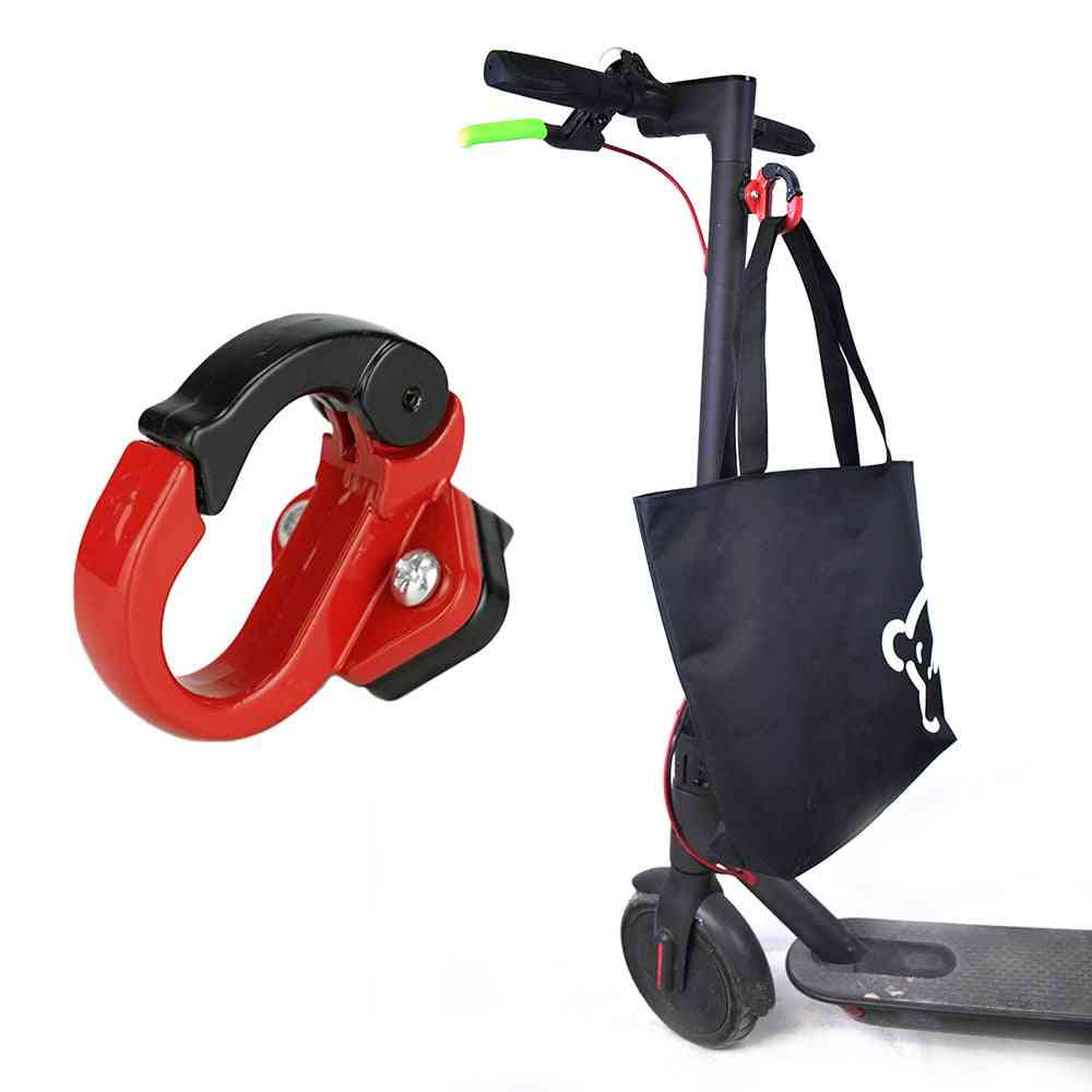 Electric Scooter Front Hook Hanger Accessories, Grip Handle Bag Claw Parts