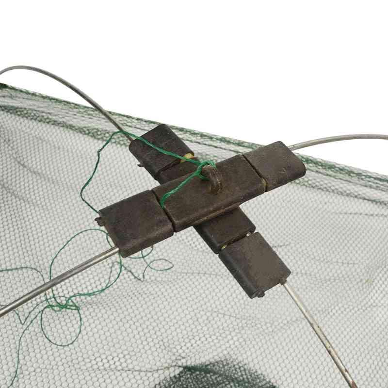 Square Fishing Landing Net Trap Network