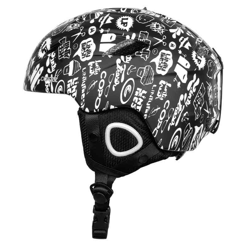Half-coverage Snowboard Safety Helmet For Adult And Kids