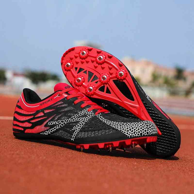Professional Spikes Sprint Shoes For Track And Field