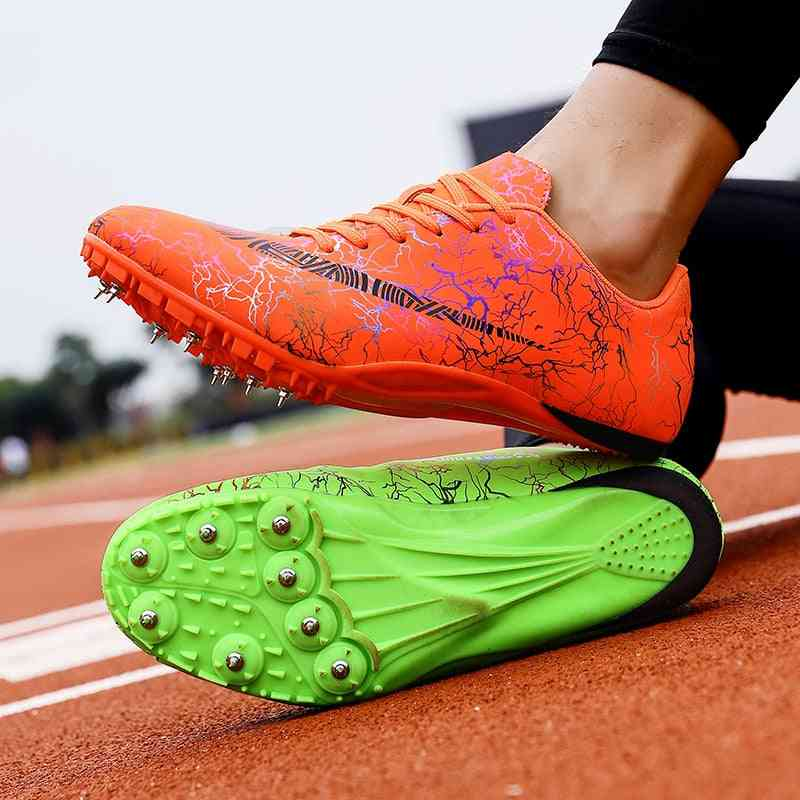Unisex Track And Field Spikes Sneakers