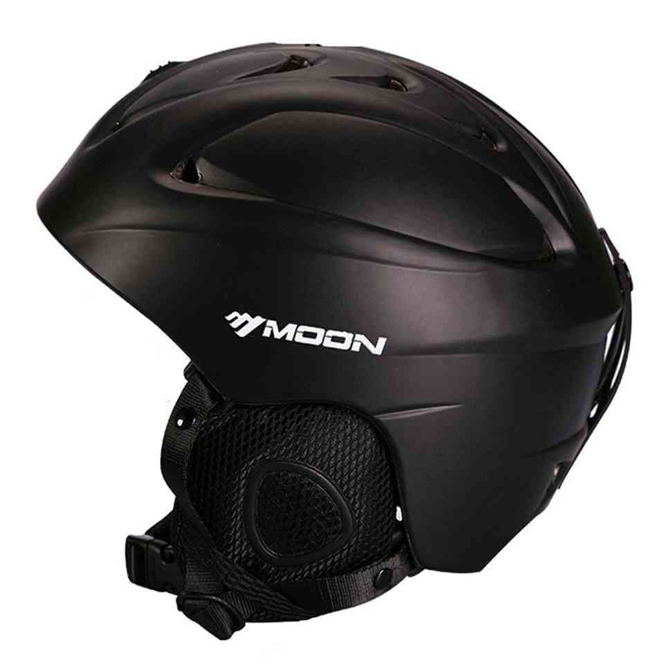 Integrally-molded Safety Ski Helmets For Adults/teenagers