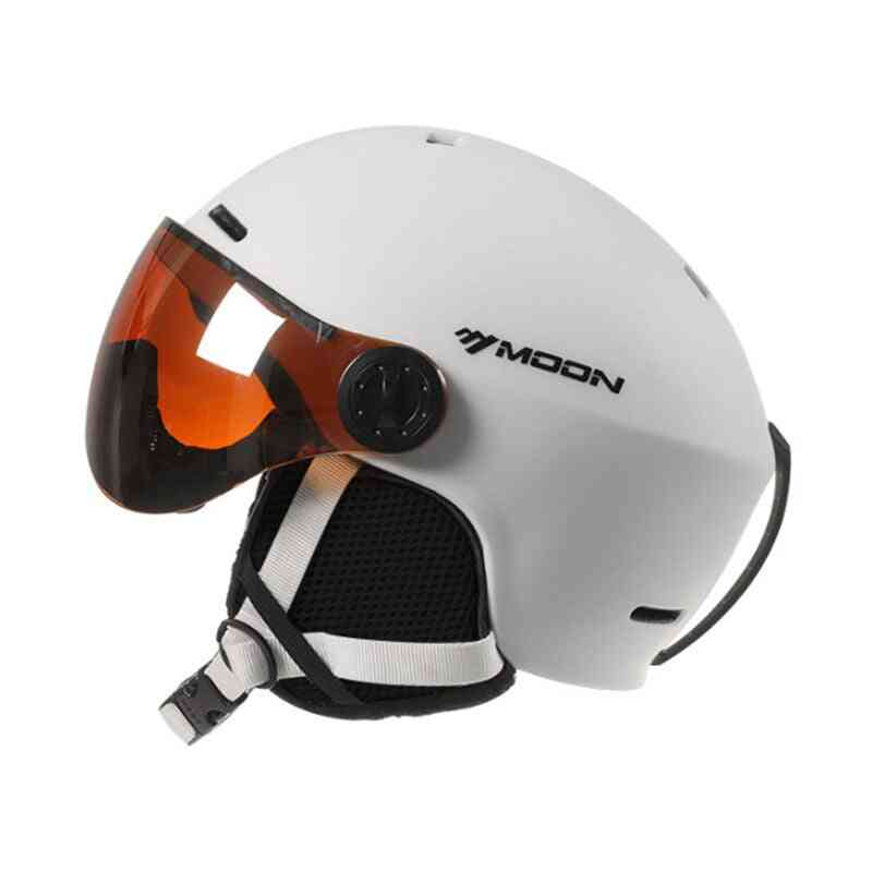 Women Ski Snowboard Helmet With Integrated Full Coverage
